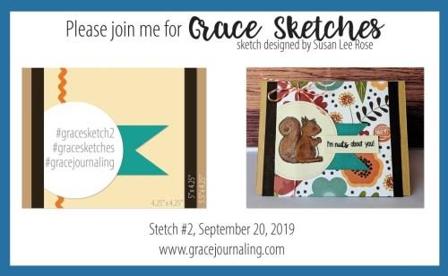 Grace Journaling - Sketch Challenge 1