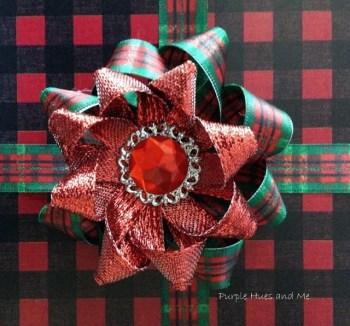 Gail - Decorative Christmas Bow
