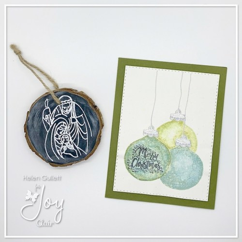 Christmas Card & Ornament