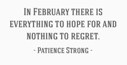 Feb Quote
