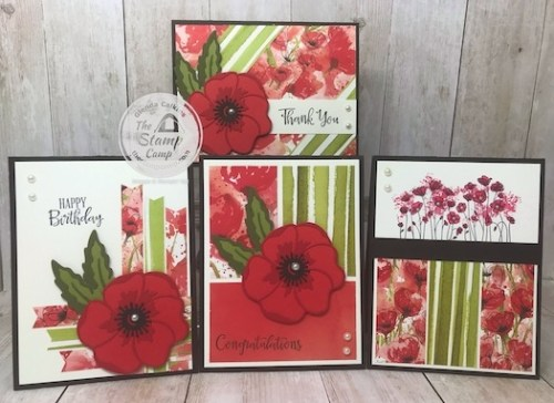Red Poppy Cards