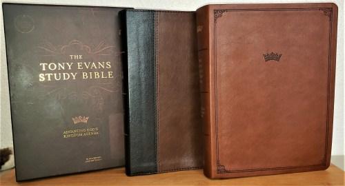 Tony Evans Study Bible Giveaway - Create-With-Joy.com
