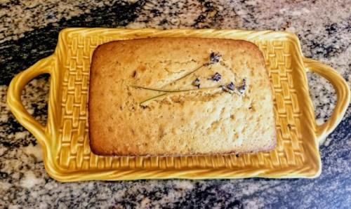 Lavender Loaf Cake