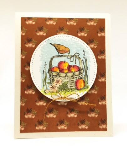Autumn Birds Card