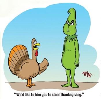 Thanksgiving Grinch