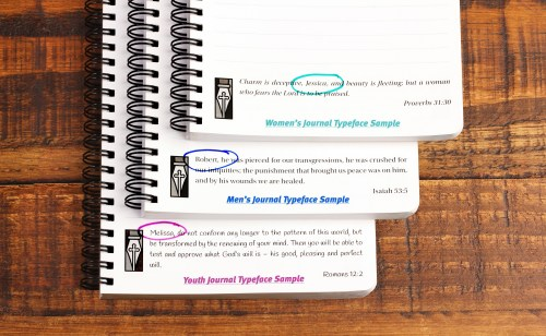 Christian Journals Direct - Custom Print Samples