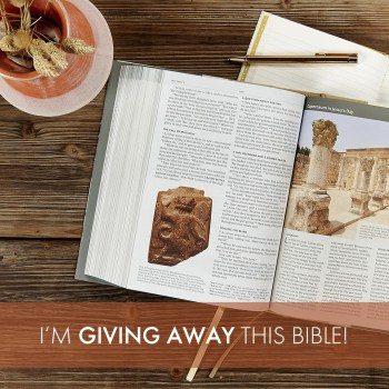 Holy Land Bible Giveaway 2