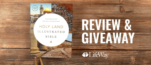 Holy Land Illustrated Bible Giveaway