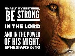 Ephesians 6-10 Be Strong In The Lord