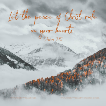 Peace Of Christ - Colossians-3-15a
