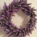 Fresh Lavender Wreath