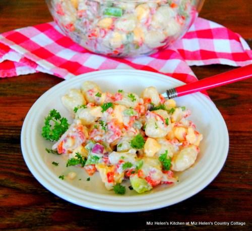 Potato Gnocci Salad