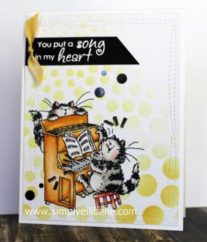 Jazzy Cats Card