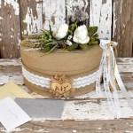 Hat Box Wedding Card Holder
