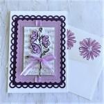 Lavender Birthday Card