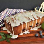 Glazed Blueberry Lime Loaf