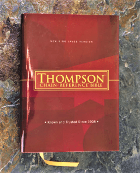 Thompson Chain-Reference Bible NKJV Hardcover
