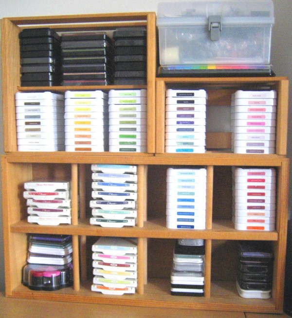 Stamp Pad Storage Options