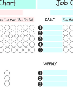 also free fillable job chart for kids rh createandfind