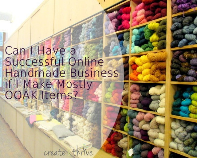 successful online handmade business
