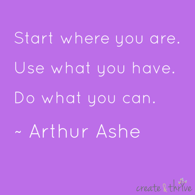 Arthur Ashe - Start Where You Are low res