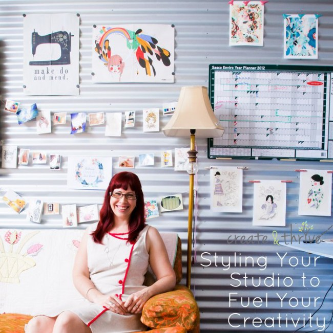 Style your Studio to Fuel your Creativitity