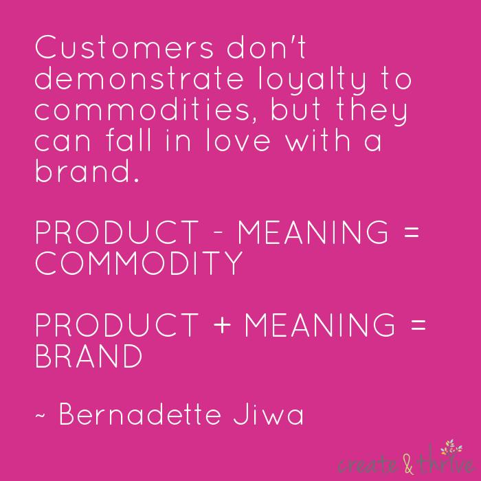 Bernadette Jiwa - Brand or Commodity