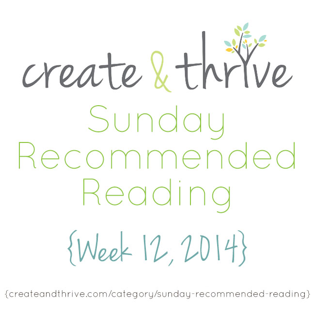 recommended reading week 12