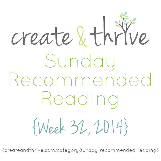 recommended reading week 32
