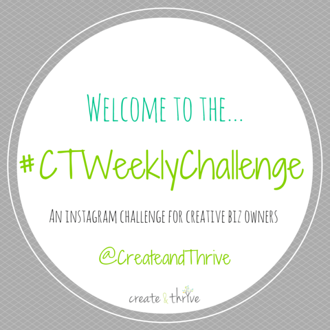 introducing the ctweeklychallenge