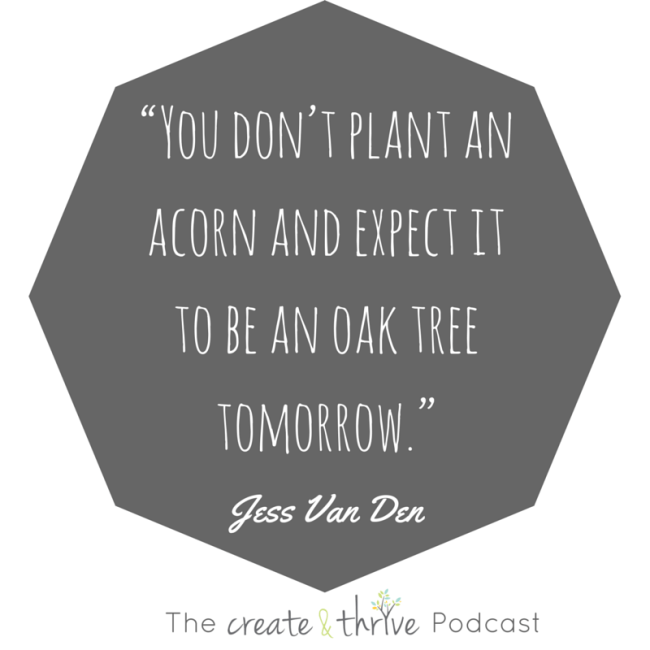 Plant an oak tree