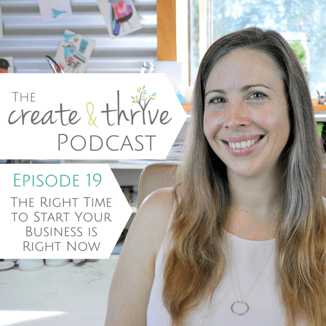 The Create & Thrive Podcast - Episode 19