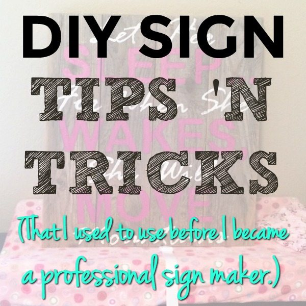 Home-Made Rustic Signs for the DIY-er in YOU!