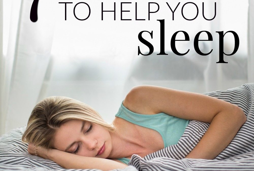 Bedtime Prayer & 7 Bible Verses to Help You Sleep