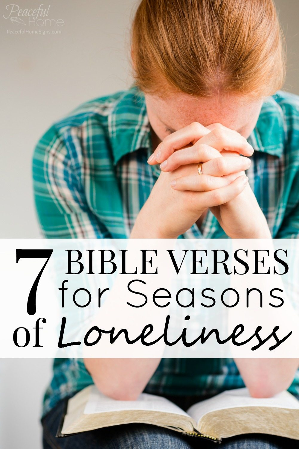 7 Bible Verses for Seasons of Loneliness | Scriptures for Loneliness | Why am I lonely? | Christian Encouragement | Christian Blogger