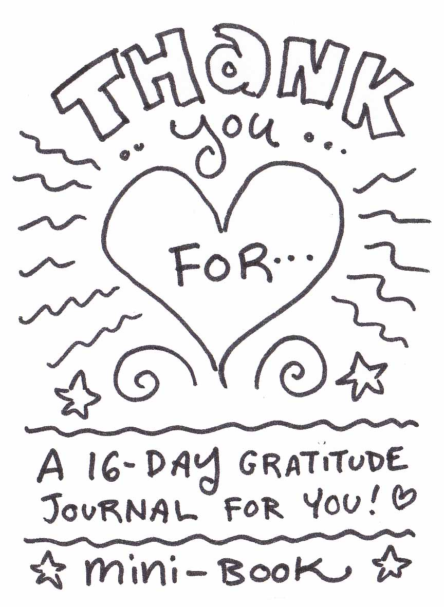 FREE Create-A-Way Download ~ 16-Day Gratitude Journal