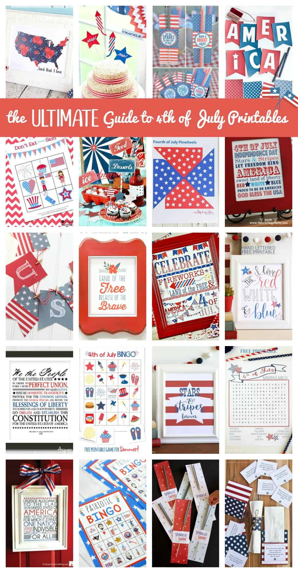 The Ultimate Guide To 4th Of July Printables