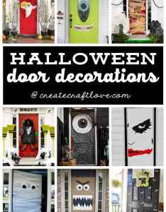 also halloween door decorations easy decor ideas rh createcraftlove