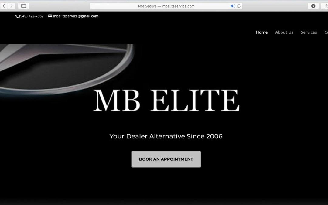 MBEliteService.com New Site Launch