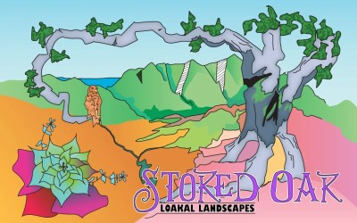 LAUNCH ALERT!!! StokedOakLandscapes.com