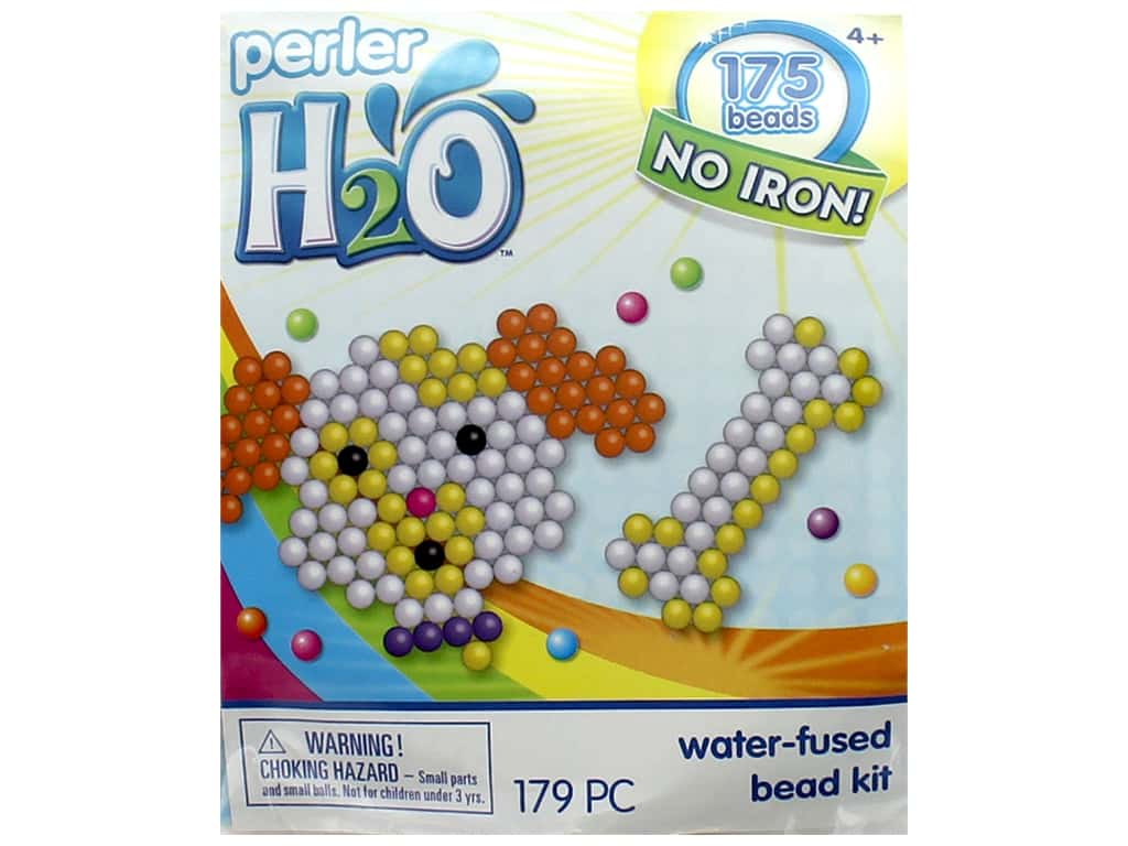 hight resolution of perler h2o water fused bead kit trial puppy bone