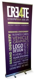 Pull-up banners from £60
