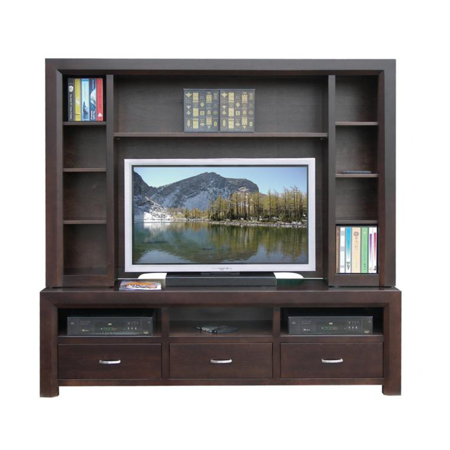 Contempo Wall Unit  Home Envy Furnishings Solid Wood