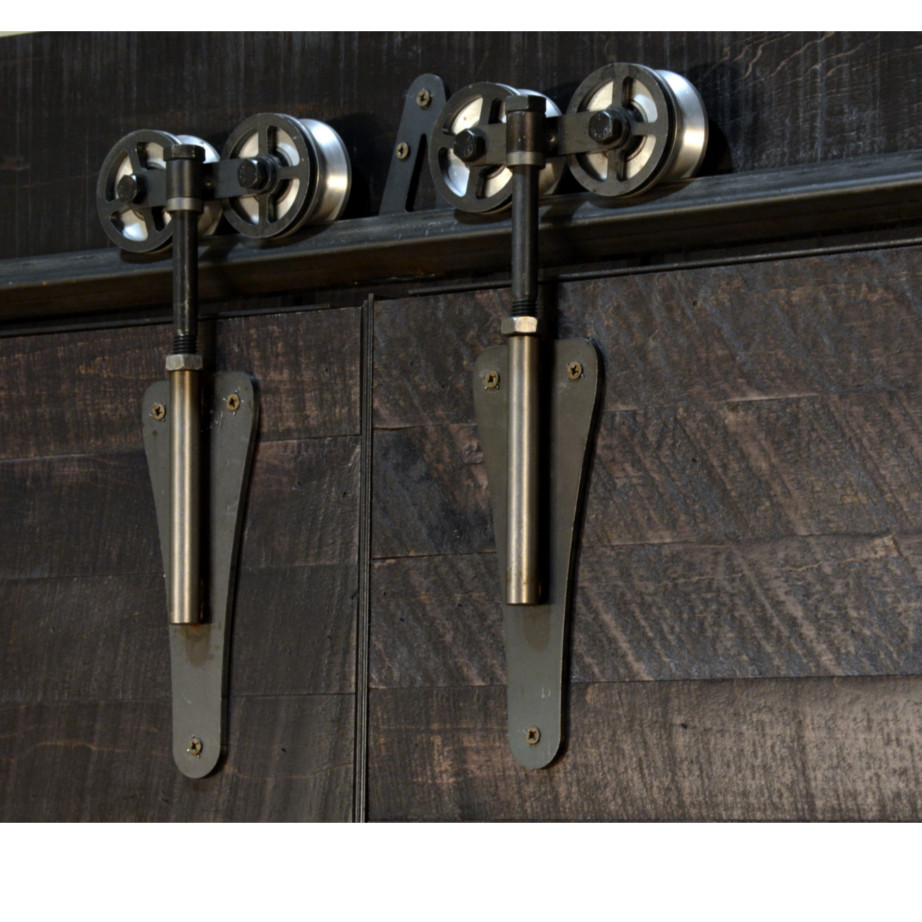 Dalton Barn Door Sideboard Home Envy Furnishings Solid