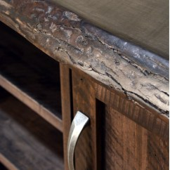 Wood Wall Units For Living Room Lamp Tables Live Edge Dresser - Home Envy Furnishings: Solid ...