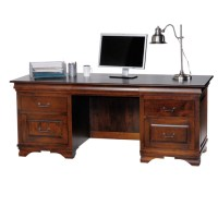 Executive Home Office Desk Solid Wood