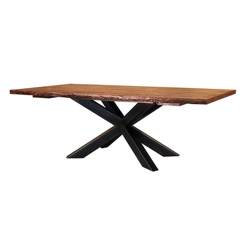 hedgehog live edge table solid rustic