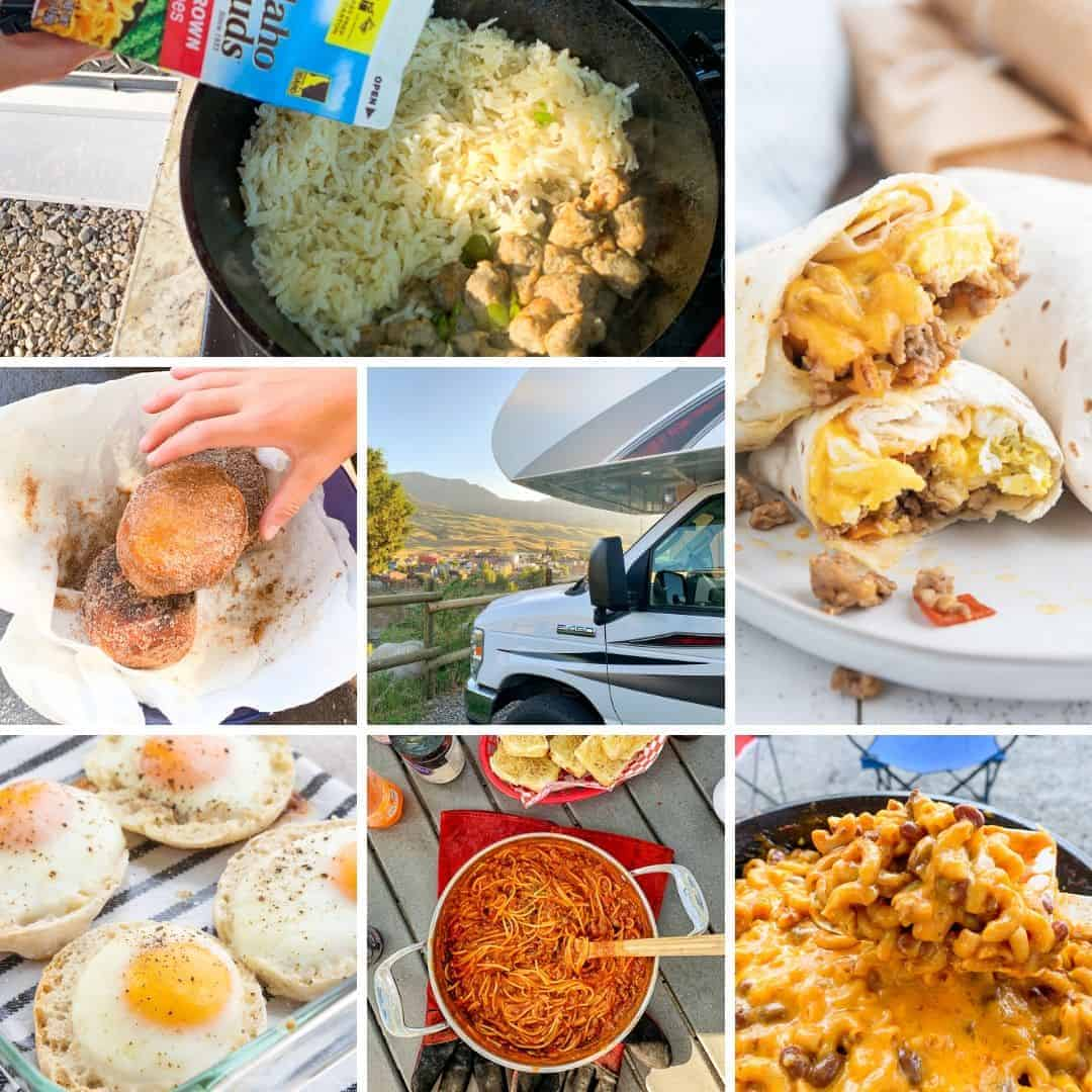 Camping Meal Plan Amp Rv Meal Planning