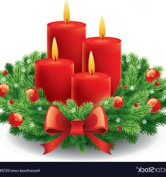 christmas advent wreath with burning candles vector [ 1200 x 1119 Pixel ]