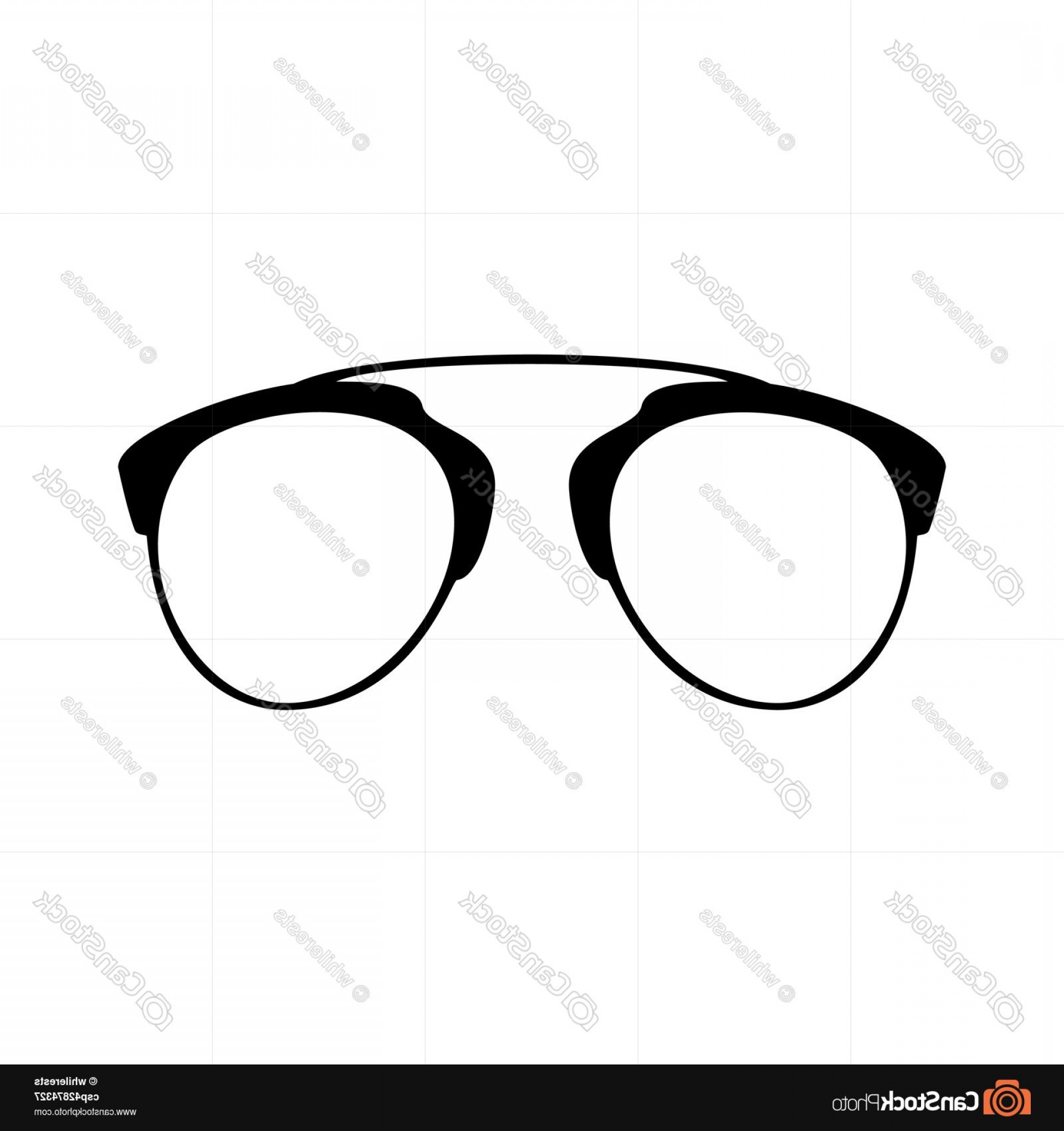 Black Sunglasses Clip Art Vector